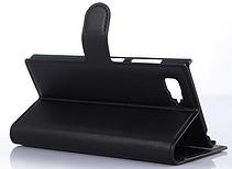 Стильный чехол-книжка для Lenovo vibe Z2 черный, фото 3