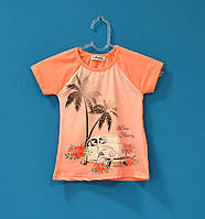 Детские футболки для девочек 5-8 лет, Детские футболки оптом дешево