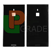 Задняя крышка Nokia 1520 Lumia (RM-938) черная