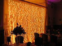 Гирлянды уличные (Штора, Занавес)2х2 480 LED