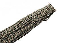 Паракордовий шнур (Мотузка для туризму і виживання) 31 метр  зелений мультиків