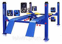 Подъёмник 4-х стоечный EVROLIFT 3D для развал схождения, 4 тонны