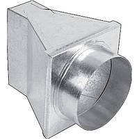 Переходник-труба Kratki 180° ф125