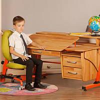 Детский стол «Эргономик с тумбой» Бук Pondi