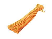 Паракордовый шнур (Веревка для туризма и выживания) 31 метр  Оранжевый
