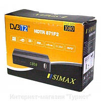 DVB-T2 Тюнер (ресивер) Т2 SIMAX HDTR 871F2 HD
