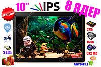 3G Планшет Lenovo 10' IPS 2sim GPS  2/16GB + Чехол-пленка-программы-игры