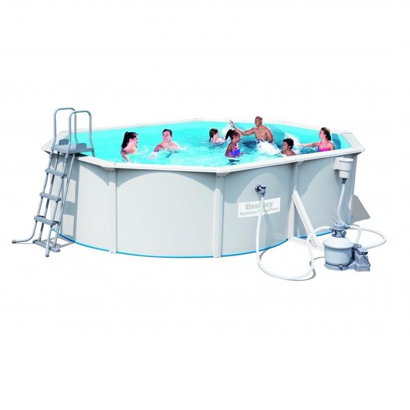 836789d9efad6 Сборный бассейн Bestway Hydrium 56586 с песочным фильтром (500x360x120) - Интернет  магазин