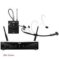 AKG WMS420PresSet - Радио система с поясным передатчиком и петличным микрофоном