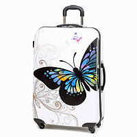 Чемодан Rock MIRO Butterfly (L)