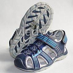 Босоножки сандалии для мальчика на мальчиков мальчику Tom.M синие Спорт 26р.