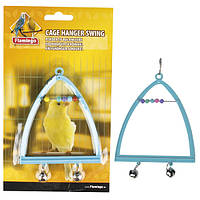 Качели Karlie-Flamingo Swing+Abacus+Bell для птиц, 10х13 см