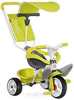 Металлический велосипед Smoby с багажником и козырьком Металлический велосипед Smoby Зеленый