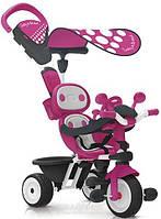 Детский металлический велосипед Smoby Комфорт Детский велосипед Smoby Комфорт Розовый