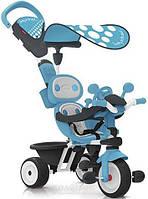 Детский металлический велосипед Smoby Комфорт Детский велосипед Smoby Комфорт Голубой