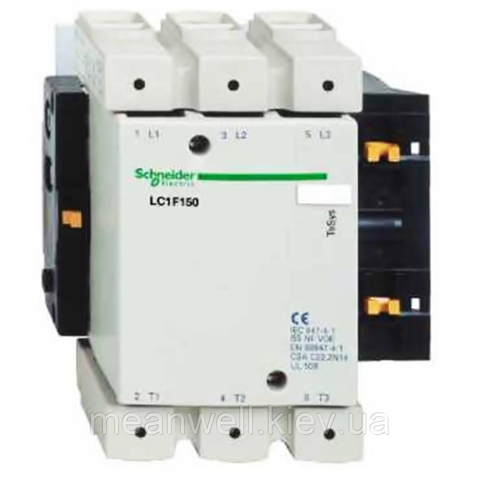LC1F150M7 Контактор Schneider Electric 3Р, 150A, 75кВт/400VAC, 220VAC 50Гц