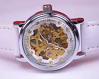 Женские механические часы Слава с автоподзаводом (скелетоны)
