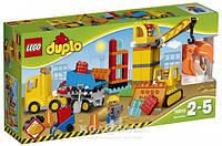 Конструктор Lego DUPLO Большая стройплощадка