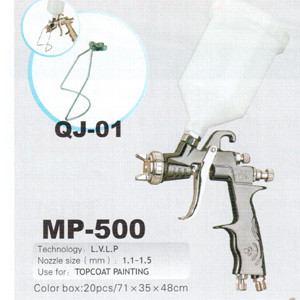 Краскопульт пневматический MP-500 LVLP (1.5) AUARITA