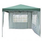 Садовый тент-шатер 3х3 с двумя стенками