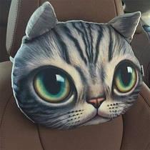 Подушка - подголовник 3D Кошечка (04107)