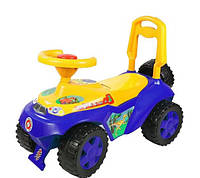 Машинка каталка 198 Орион, синий