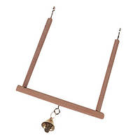 Качели Karlie-Flamingo Wooden Swing для птиц, 13х12 см, фото 1