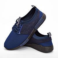 Мужские кроссовки синие (Код: DRM-300)