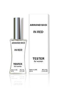 Тестер женский Armand Basi «In Red» (Арманд Баси «Ин Ред»), 60 мл