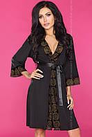 Изящный черный халат Finvarra от Livia Corsetti Отличное качество, прекрасная цена!