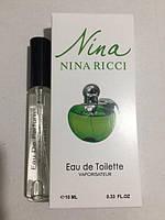 Женская мини парфюмерия Nina Ricci Нина Ричи  (Green Apple) 10 ml DIZ