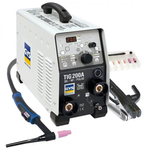 Сварочный инвертор GYS TIG 200 DC HF FV, ACC. SR17DB-4M