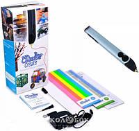3D-ручка 3Doodler Create для профессионального использования - Голубой металлик