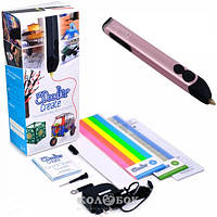 3D-ручка 3Doodler Create для профессионального использования - Розовый металлик