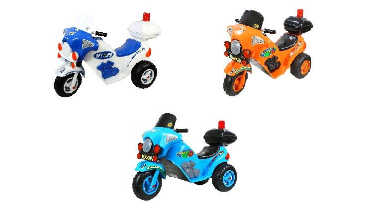 Детский электромобиль трицикл Орион Я-маха 372