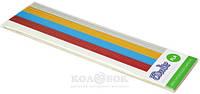 Набор стержней из PLA-пластика для профессионального использования с 3Doodler Create (в ассортименте) Металлик (25 шт, металлик)