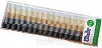 Набор стержней из PLA-пластика для профессионального использования с 3Doodler Create (в ассортименте) Хаки (25 шт, металлик/глянец)