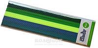Набор стержней из PLA-пластика для профессионального использования с 3Doodler Create (в ассортименте) Тропический лес (25 шт, металлик/глянец)