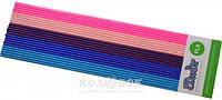 Набор стержней из PLA-пластика для профессионального использования с 3Doodler Create (в ассортименте) Глубокий цвет (25 шт, глянец)