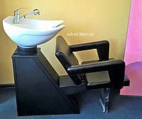 ZD-83 мойка парикмахерская с креслом фламинго