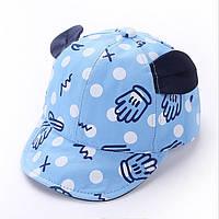 Детская кепка с ушками.