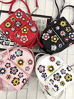 Женский+подростковый рюкзак в цветах
