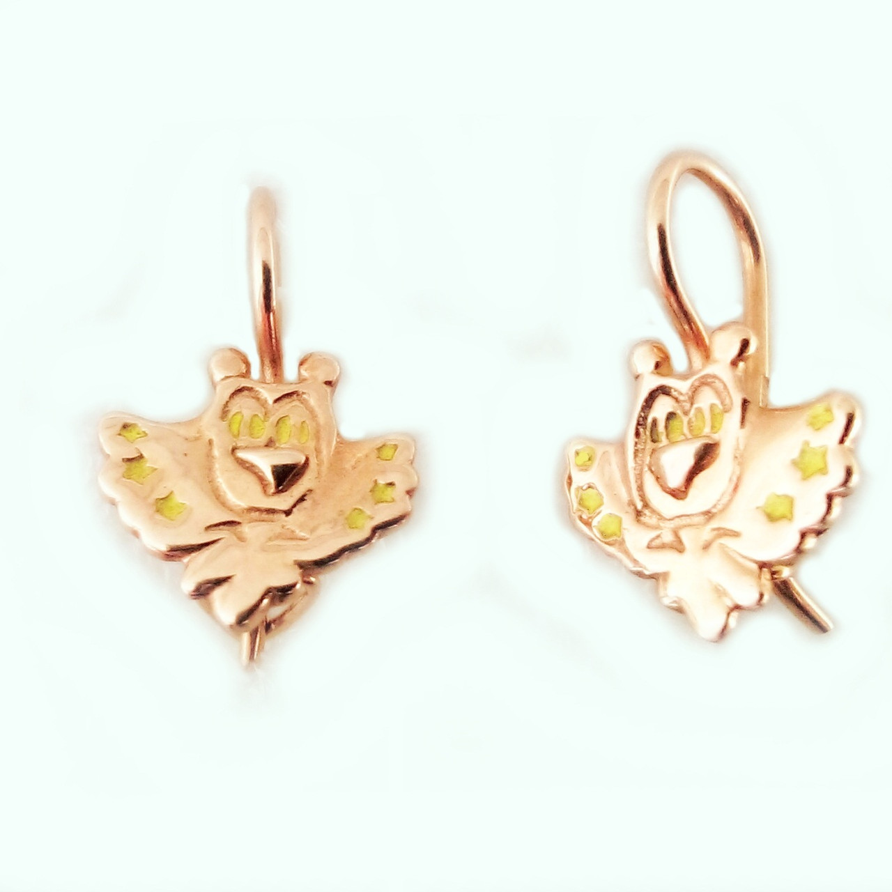 Сережки золотые сережки Сова, цена 1 999 грн., купить в Запорожье ... e494d725b66