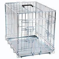 Клетка Karlie-Flamingo Wire Cage для собак двухдверная, 63х43х49 см