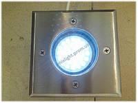 Грунтовой светильник квадрат Lemanso 1,5W
