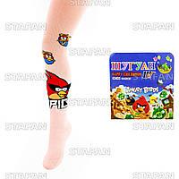 Детские качественные колготки Shuguan AngryBirds 9086 116-128-06-R