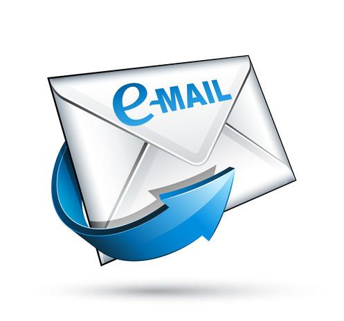Изменения адреса електронной почты