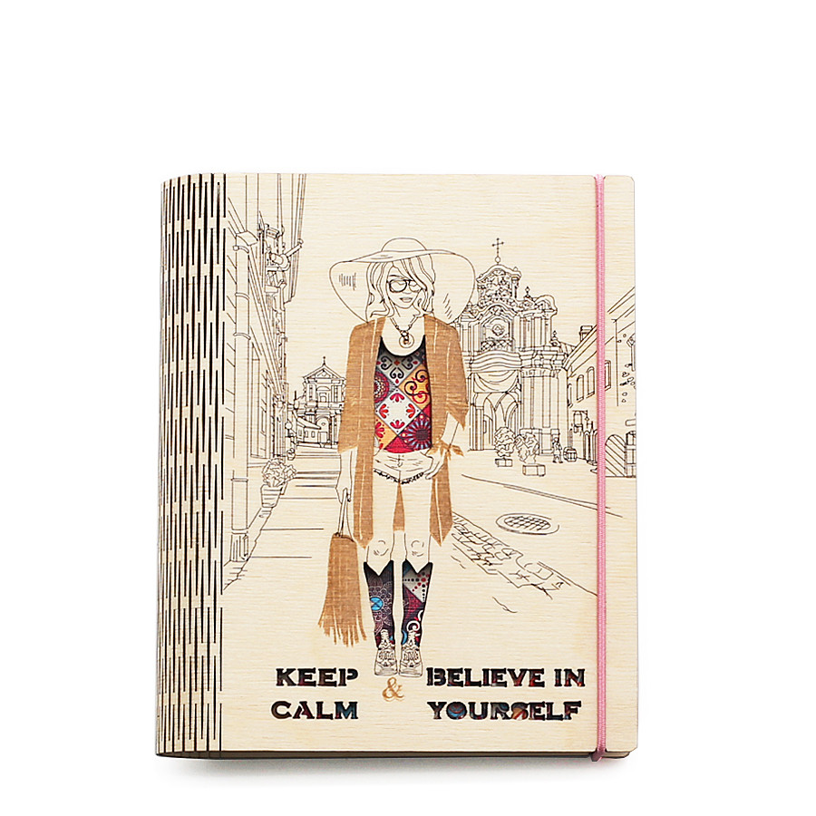 "Блокнот ""Keep Calm and believe in yuorself"" А6 - Творческая мастерская Zabava в Днепре"