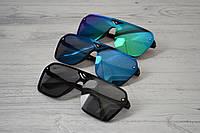 Солнцезащитные очки унисекс крупные авиаторы