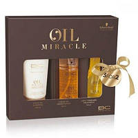 Schwarzkopf Набор BC Oil Miracle light (Шампунь+Спрей-Кондиционер+Масло для тонких и нормальных волос)